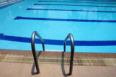 A swimming pool. Royalty Free Stock Images