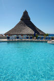 Swimming pool. Shot was taken in cabo san lucas,mexico Stock Photos