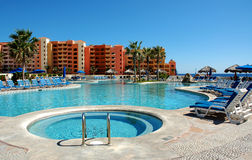 Swimming pool. This shot was taken in cabo san lucas mexico Stock Images