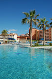 Swimming pool. This shot was taken in cabo san lucas mexico Royalty Free Stock Photo