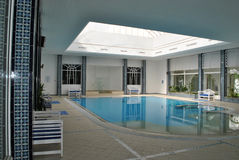 Swimming pool. In a resort of djerba Royalty Free Stock Photography