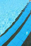 Swimming pool. Outdoor shallow water swimming pool Stock Photography