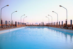 Swimming-pool Stock Photo