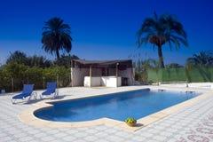 Swimming pool. A swimming pool in Murcia, Spain Stock Photos