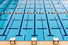 Swimming Pool. For sport Stock Images