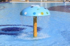 At the swimming pool Royalty Free Stock Images