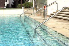 Swimming Pool. An overflowing swimming pool Royalty Free Stock Photography