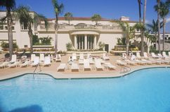 Swimming pool. Ritz Carlton, Laguna Niguel, CA Royalty Free Stock Images