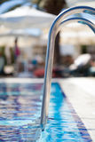 Swimming pool. A close-up photograph of swimmig pool Royalty Free Stock Photos