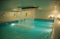 Swimming pool. In a sanatorium Royalty Free Stock Image