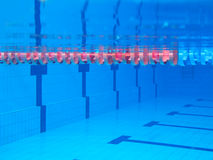 Swimming-pool Στοκ φωτογραφία με δικαίωμα ελεύθερης χρήσης