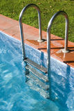 Swimming-pool 5. Detail of a Swimming-poll Royalty Free Stock Image