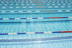 Swimming Pool. With blue water Stock Photography