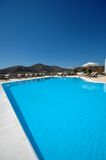 Swimming Pool. Crystal clear hotel swimming pool Royalty Free Stock Image