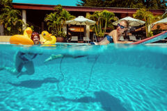 Swimming-pool Στοκ Εικόνες