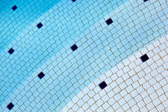 Swimming pool abstract Royalty Free Stock Image