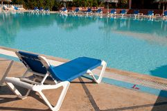 Swimming pool in all inclusive hotel Stock Photography
