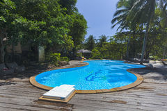 Swimming pool of Analay resort Royalty Free Stock Images