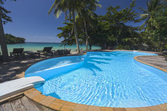 Swimming pool of Analay resort Royalty Free Stock Photography