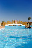 Swimming pool area Royalty Free Stock Photography