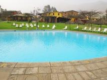 Swimming pool area Stock Photos