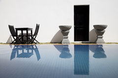 Swimming pool area Royalty Free Stock Images