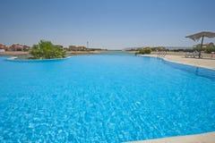 Swimming Pool At At Luxury Tropical Holiday Villa Stock Photography