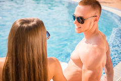 Swimming pool Stock Images