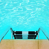 Swimming pool background Stock Photos