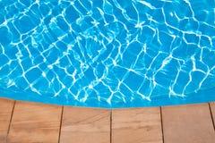 Swimming pool background Stock Photo