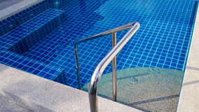 Swimming pool background in the morning Royalty Free Stock Image