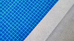 Swimming pool background in the morning Royalty Free Stock Photography