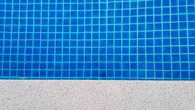 Swimming pool background in the morning Stock Photography