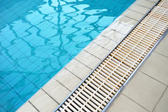 Swimming pool background Royalty Free Stock Photography