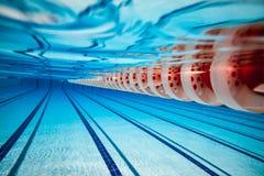 Swimming pool background Stock Image