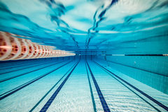 Swimming pool background Royalty Free Stock Image