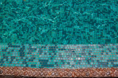 Swimming pool,backgrounds. Background of green swimming pool Stock Images