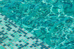 Swimming pool,backgrounds. Background of green swimming pool Stock Photo