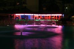 Swimming pool and bar Royalty Free Stock Photo