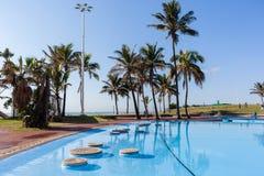 Swimming Pool Beach Landscape Stock Image