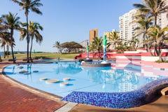 Swimming Pool Beachfront Royalty Free Stock Photo