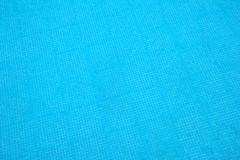 Swimming pool blue tiled surface texture Stock Images
