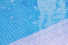 Swimming Pool with Blue Water or Colline Water. stock photos