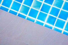 Swimming pool blue water Royalty Free Stock Photos