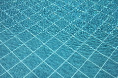Swimming Pool Blue Stock Image