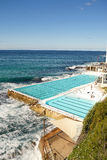Swimming pool in Bondi Beach Stock Photography