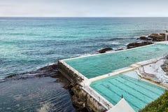 Swimming pool in Bondi Beach Stock Images