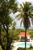 Swimming pool Caribbean Sea San Andres Stock Photos