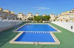 A Swimming Pool - Summer Holiday Setting Resort Royalty Free Stock Photos