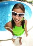 Swimming pool child. Stock Image